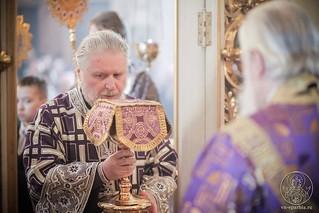 Литургия в Покровском соборе 300