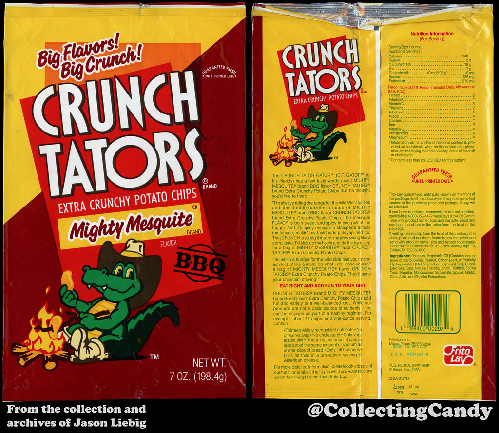 Frito Lay Crunch Tators Mighty Mesquite 7oz Snack Chip Flickr
