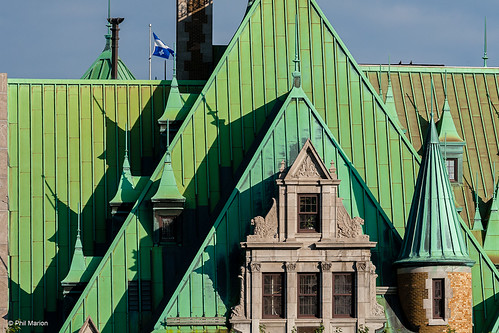 Chateau Frontenac detail | by Phil Marion (176 million views - THANKS)