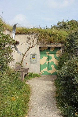 Schiermonnikoog  Bunker Entrance