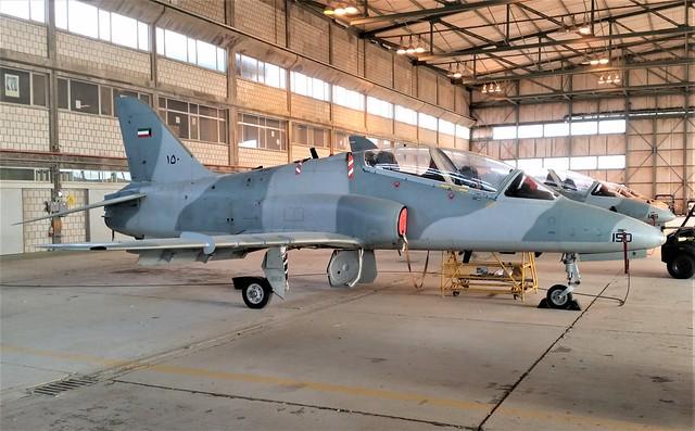Hawk Mk.64 150 12Sq (No badge worn) Kuwait-AF/ KAF. Ali Al Salem Air-Base, Kuwait 2016.