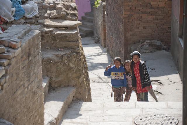 NPL - Nepalese girls - Kirtipur