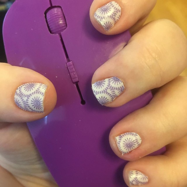 This week's Jamicure! Very Springy! #suddenlylilacjn #jamberryjunkie