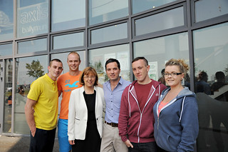 Burton, Costello and Lyons mark announcement of pilot Youth Guarantee project in Ballymun