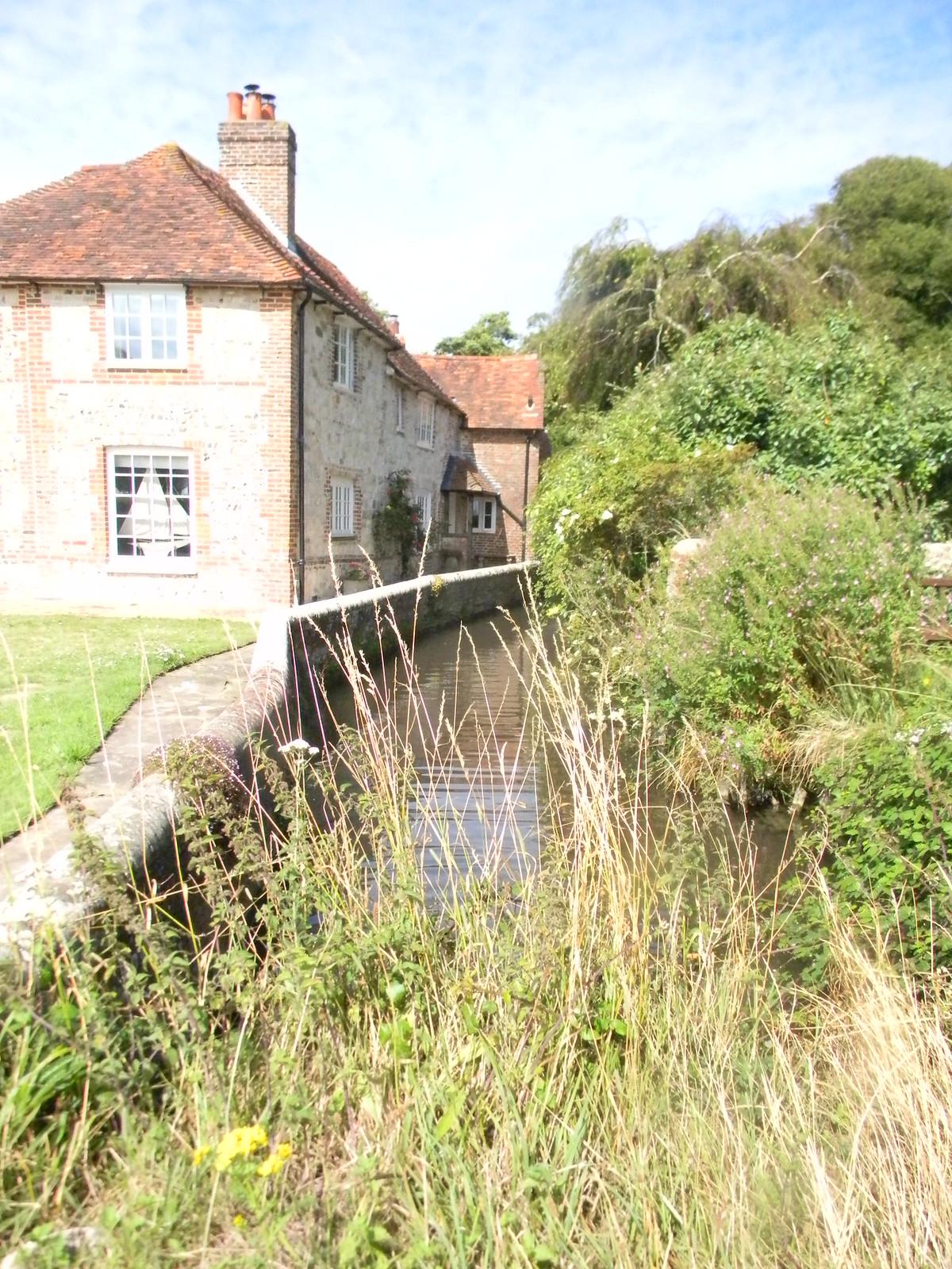 Mill stream, Bosham Southbourne to Chichester