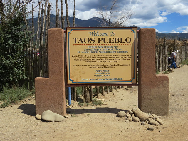 Welcome to Taos Pueblo