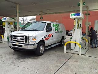 U-Haul at gas station