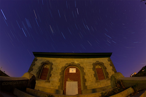 old longexposure nightphotography morning blue sky urban usa history classic boston stone architecture night stairs canon stars photography dawn early timelapse brighton unitedstates massachusetts wide steps trails wideangle historic reservoir fisheye astrophotography lighttrails bluehour 8mm brookline pumphouse clevelandcircle newton startrails polaris chestnuthill northstar purpleyellow samyang brightonma chestnuthillreservoir northstartrails samyang8mm gregdubois gregduboisphotography