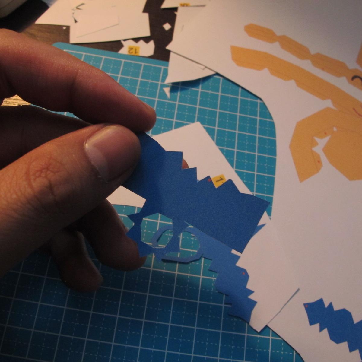 โมเดลกระดาษโพโคโย 002