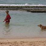 Water dog, Maui