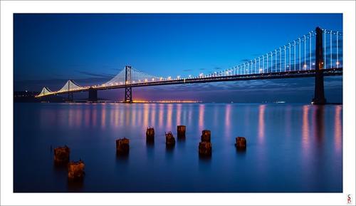 sanfrancisco seascape water sunrise dawn nikon shoreline baybridge d90 stephenbird