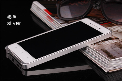 DAYJOY 0.68MM Ultra thin Aluminum Alloy Metal Bumper Protective Shell Case Cover for OPPO R1 R829T