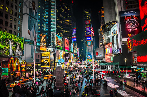 Times Square, NYC | by mkfeeney