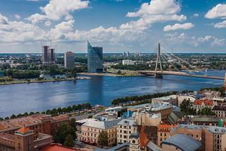 Lettland - Latvia, Riga 24   by Rolf Piepenbring