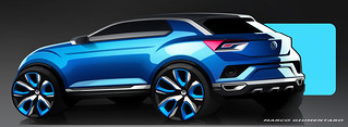 Volkswagen T-ROC @ Geneva 2014