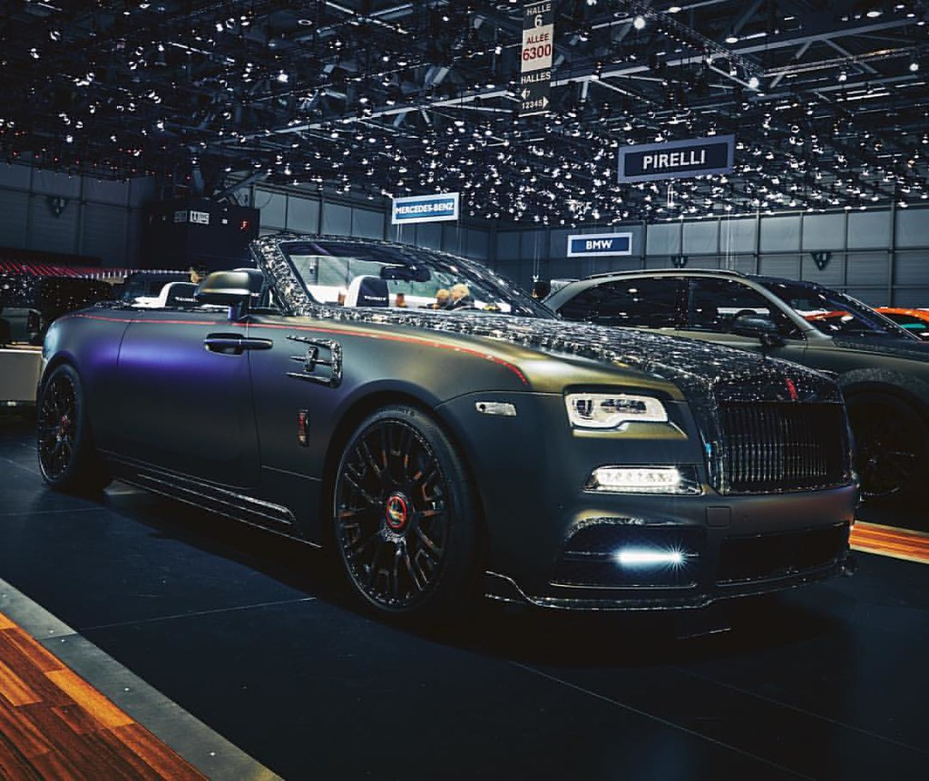 2017 Rolls Royce Dawn By @mansory At @gimsswiss