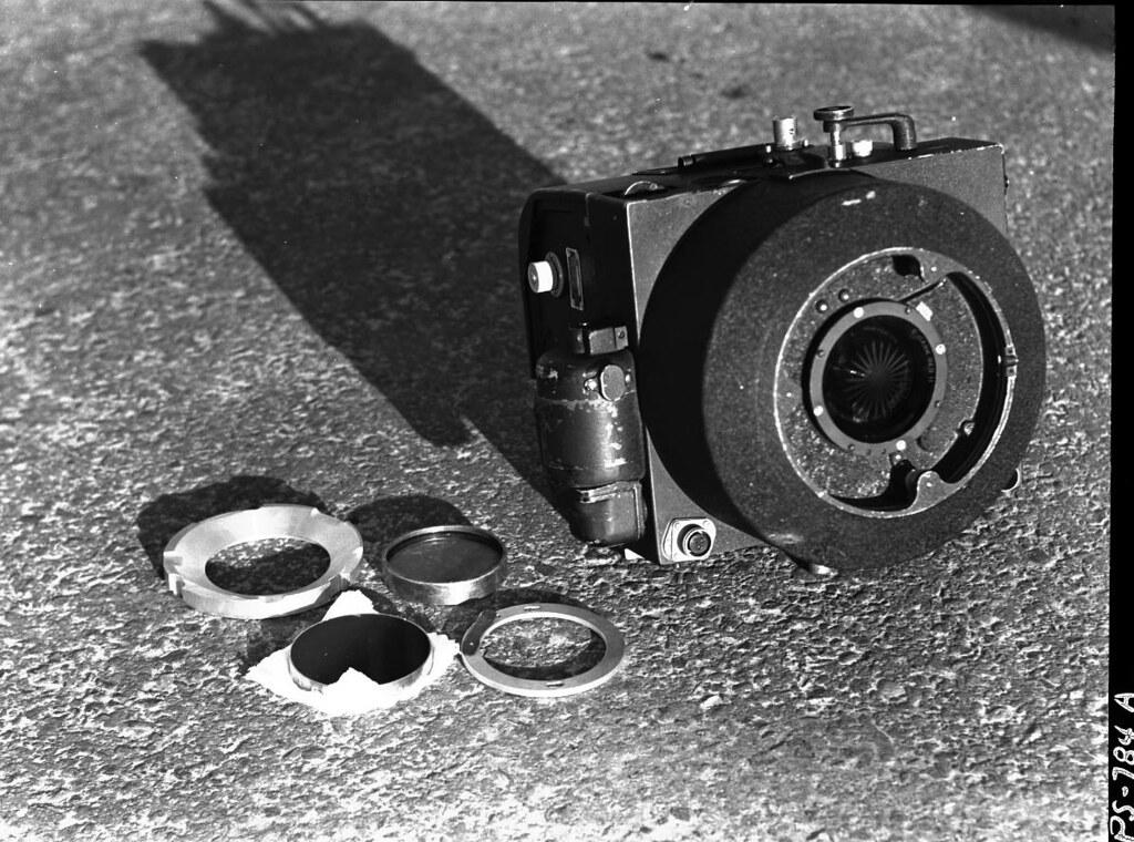 1948  K-17 camera, regular installation with vignetted No