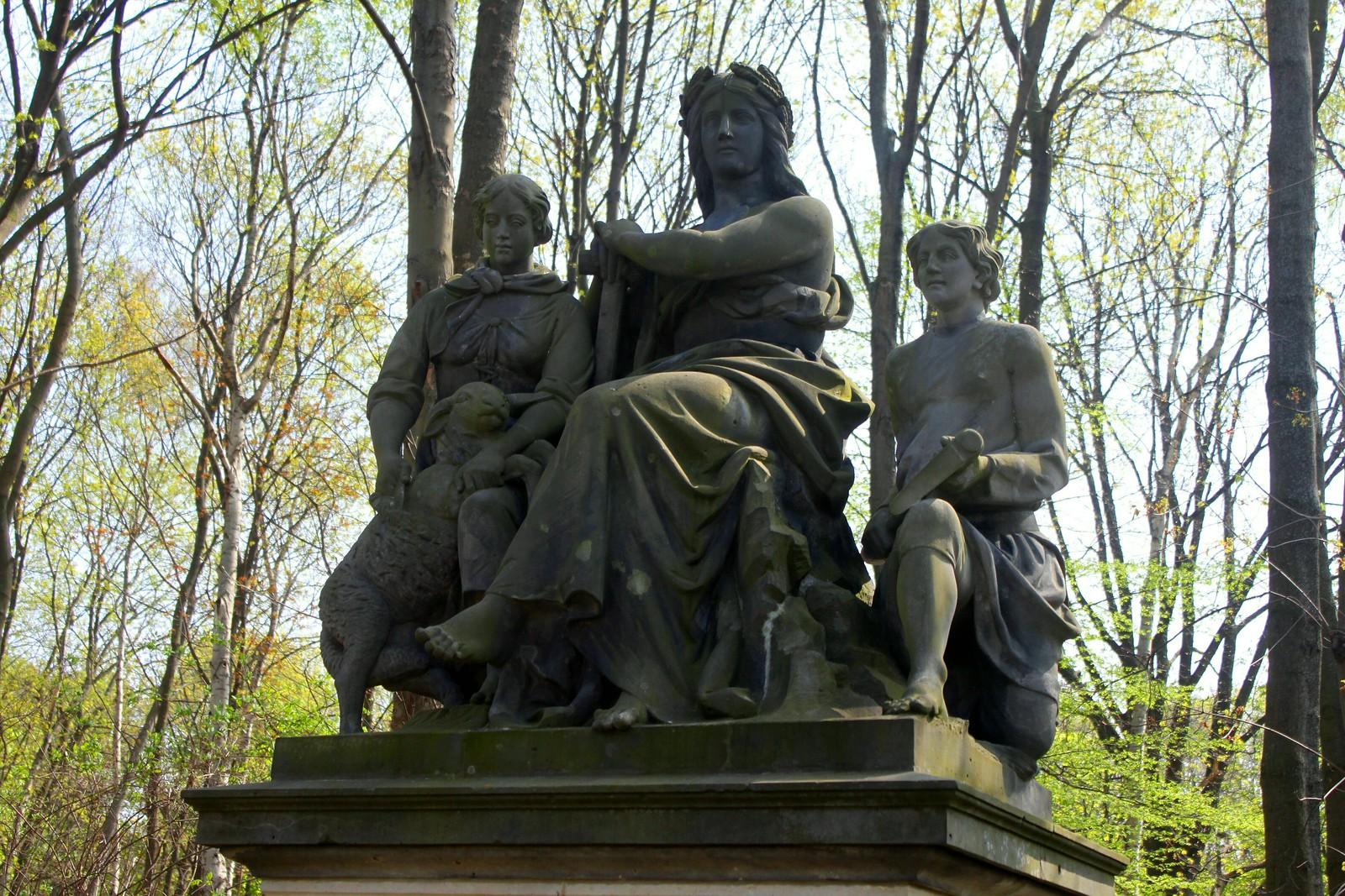 """Die Oder"" im Berliner Tiergarten"