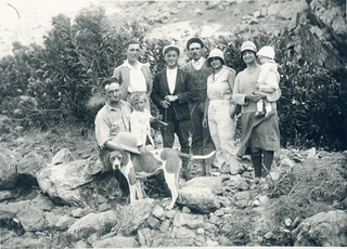 Maroc, Partie de pêche en 1929 - Morocco fishing trip