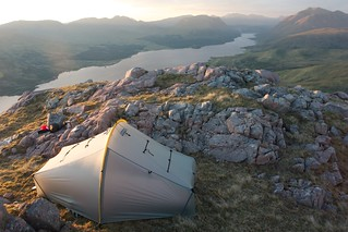 Camped above Loch Etive | by Nick Bramhall