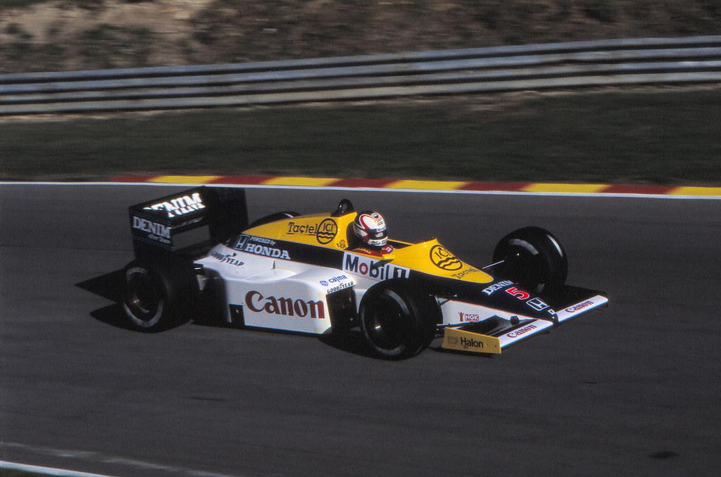 1985 Nigel Mansell - Williams FW10/Honda
