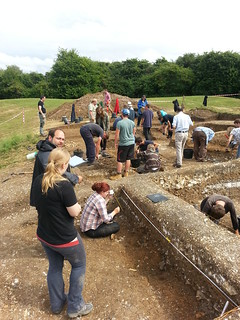 Day 13 - Busy afternoon in the trench