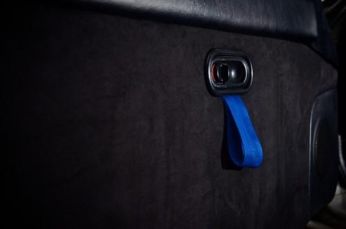 Roadster interior - door pulls | by Jase_MK