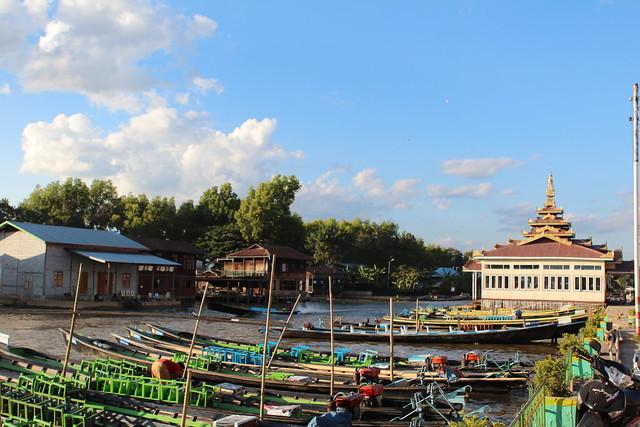 Nyaung Shwe pier