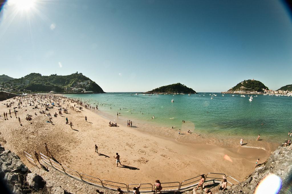 Playa de la Concha. San Sebastián