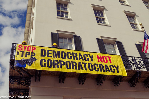 Democracy Not Corporatocracy | by cool revolution
