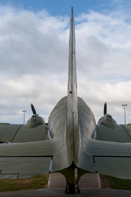 C-47 Sky Train from behind