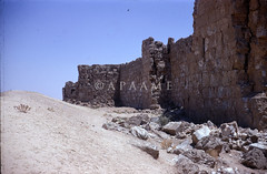 Resafa - North wall east of main gate