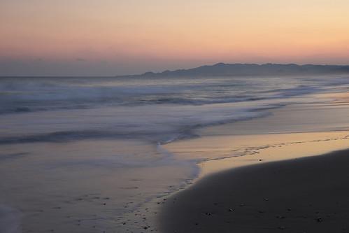 sunset sea beach minamiboso