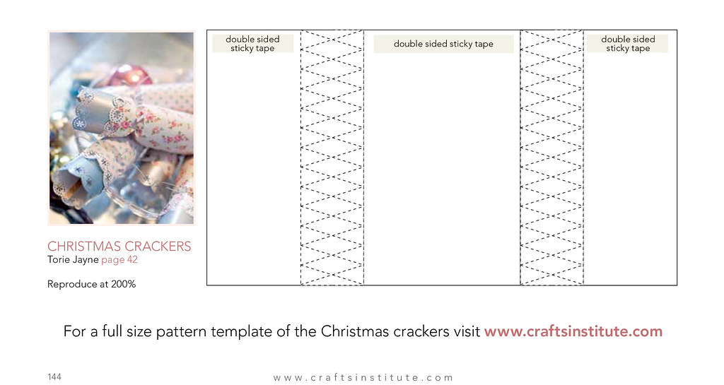 Christmas Cracker Template.Christmas Cracker Template From Making Magazine Blogged At