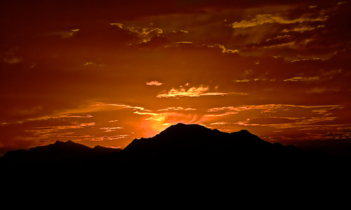 sunset silhouette clouds spain nikon goldenhour ridges mountainranges 2013 nikond7100 sunsettingbeindthemountains