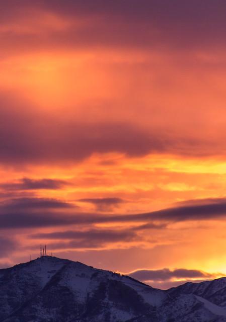 Sunset - Salt Lake City, Utah