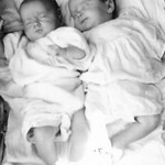 Micheal and Pamela West born 13th April 1939 at British Military Hospital Gibraltar
