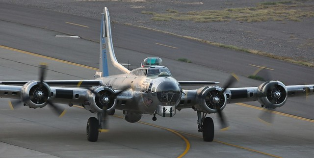 I enjoy photographing any B-17, flying history, thanks CAF.
