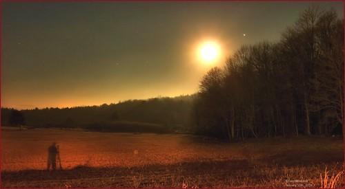 morning winter light shadow moon timelapse january astrophotography astronomy jupiter whitehaven gemini constellation 2014 tomwildoner
