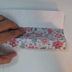 การพับกระดาษเป็นรูปหัวใจแบบ 3 มิติ 007