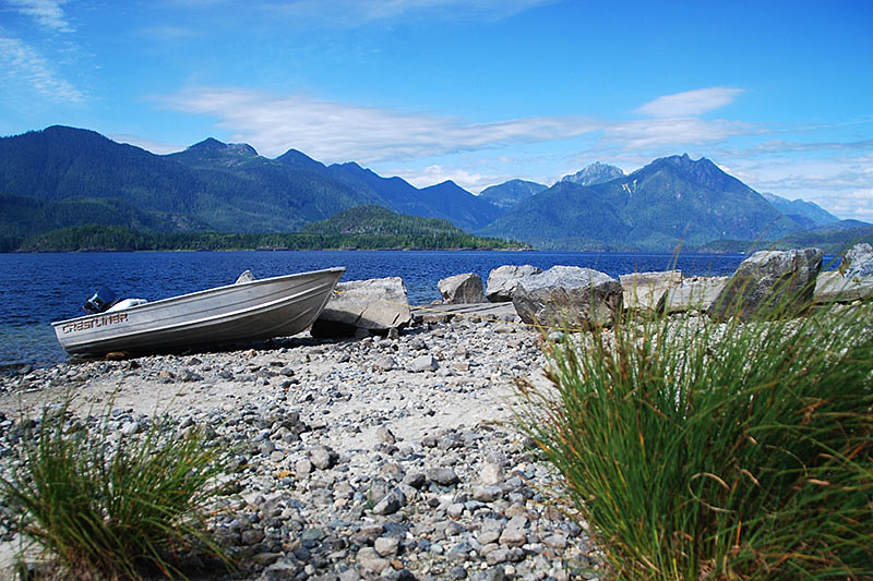 Kennedy Lake Provincial Park, Pacific Rim, Vancouver Island, British Columbia, Canada