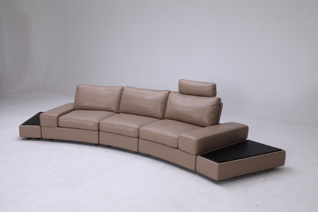 Outstanding Modern Leather Sofa Set Furniture In Grey Color Vgkk1295 Cjindustries Chair Design For Home Cjindustriesco