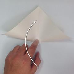 สอนวิธีพับกระดาษเป็นรูปลูกสุนัขยืนสองขา แบบของพอล ฟราสโก้ (Down Boy Dog Origami) 004