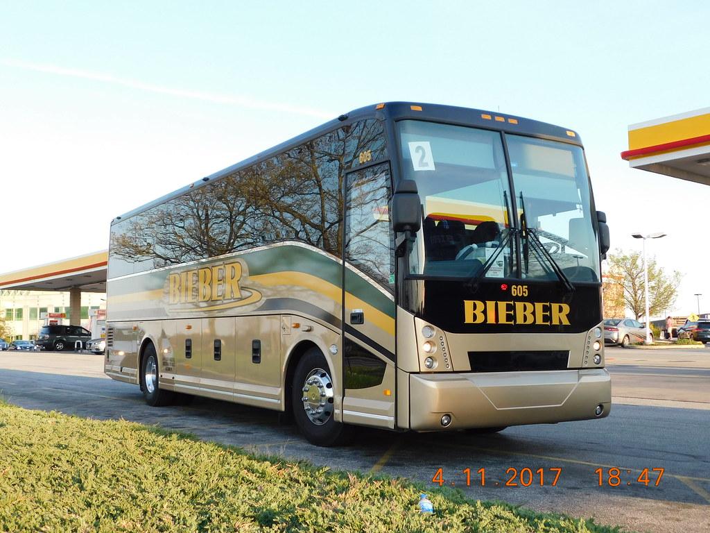 Carl R  Bieber Tourways: Van Hool CX35 (Diesel) #605 | Flickr