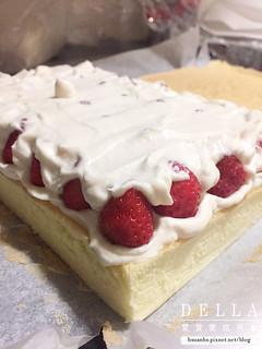 草莓鮮奶油海綿蛋糕 (13) | by DellaKuo