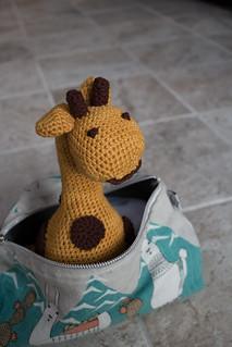 April the Amigurumi Giraffe   by Terriko