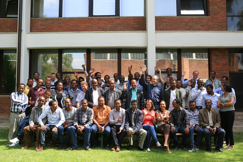 Apr/2017 - SmaRT-Ethiopia project workshop on developing intervention packages for small ruminant value chain target sites - ILRI, Ethiopia  19 – 20 April (Photo credit: ILRI/Apollo Habtamu)