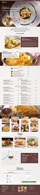 Site Restaurante Zucco Cucina