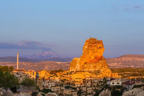 sunset turkey day clear cappadocia