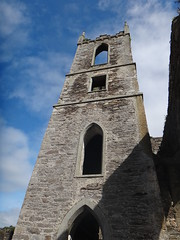 19th Century Tower of Baltinglass Abbey